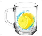 """Кружка """"Green tea"""" Лимон 200мл"""
