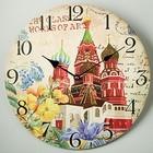 """Часы настенные МДФ DELTA DT-0151 """"Кремль"""""""
