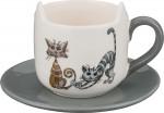 """188-100 Чайная пара """"Озорные коты"""""""