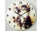 """Часы настенные DELTA DT6-0006 """"Котята"""""""