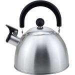 310097 Чайник металлический со свистком Mallony MAL-039-MP