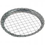 004485 Овощерезка круглая в металлическом корпусе Mallony (сеточка)