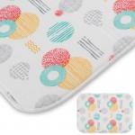 """005490 Коврик для сушки посуды из микрофибры MDM-Promo-S """"Рыжий кот"""""""