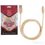 006277 Кабель Energy ET-01 USB/Lightning, (для продукции Apple) золотой