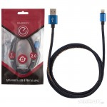 006286 Кабель Energy ET-04 USB/Lightning, (для продукции Apple) синий деним