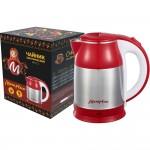 Чайник МАТРЕНА МА-121 стальной красный (007363)