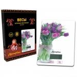 Весы кухонные МАТРЕНА МА-037 Тюльпаны (007833)